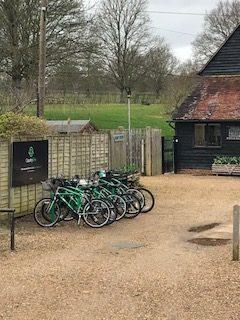 Bikes at Penshurst Place
