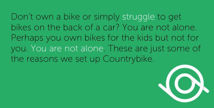 bike hire made easy