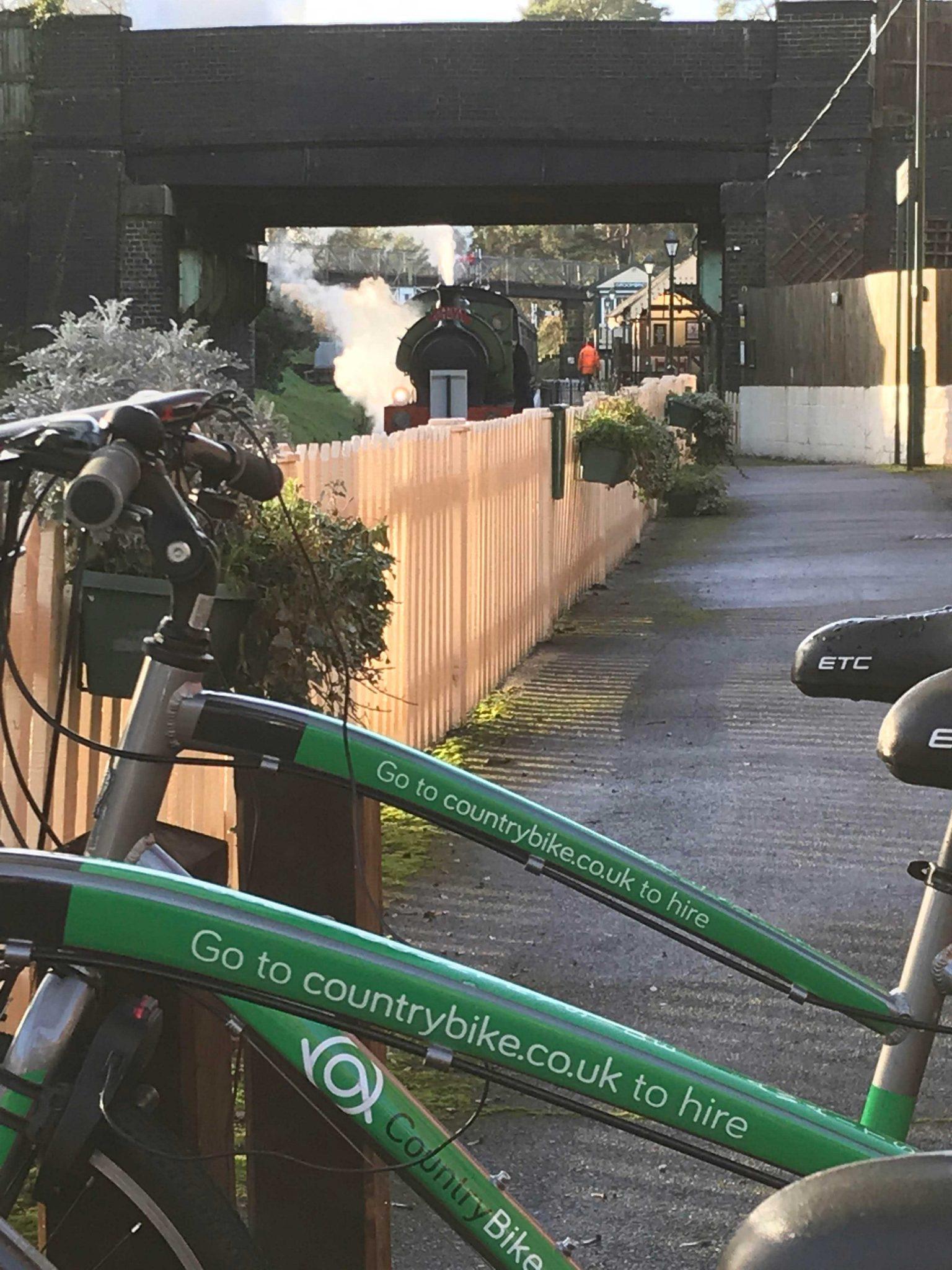 Image of bikes at Groombridge