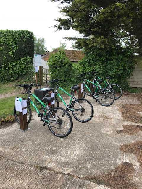 Bikes in situ